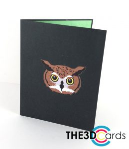 owl pop up cover