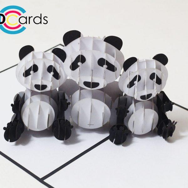 panda pop up