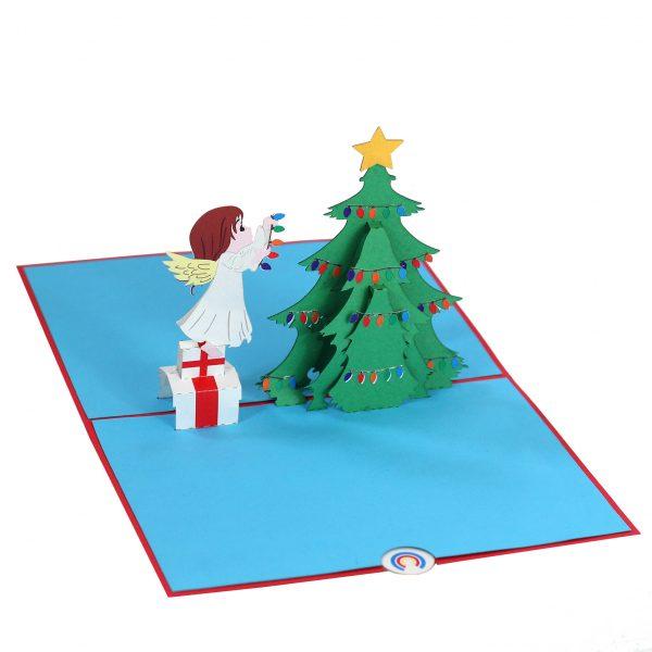 Christmas Angel Pop Up Card