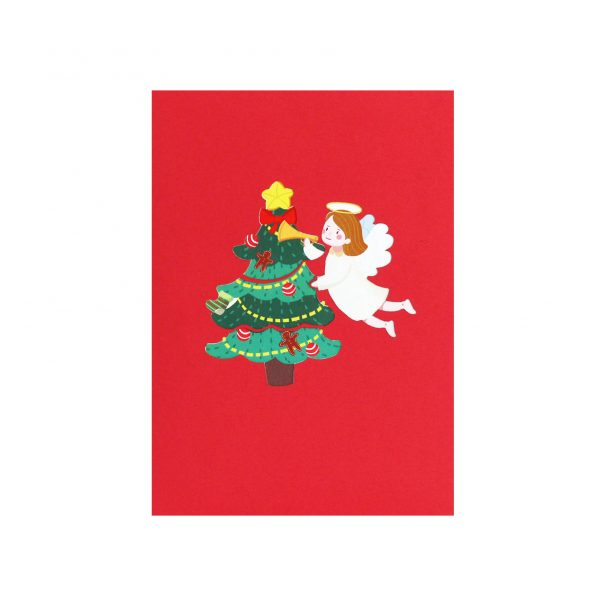 Christmas Angel Pop Up Card