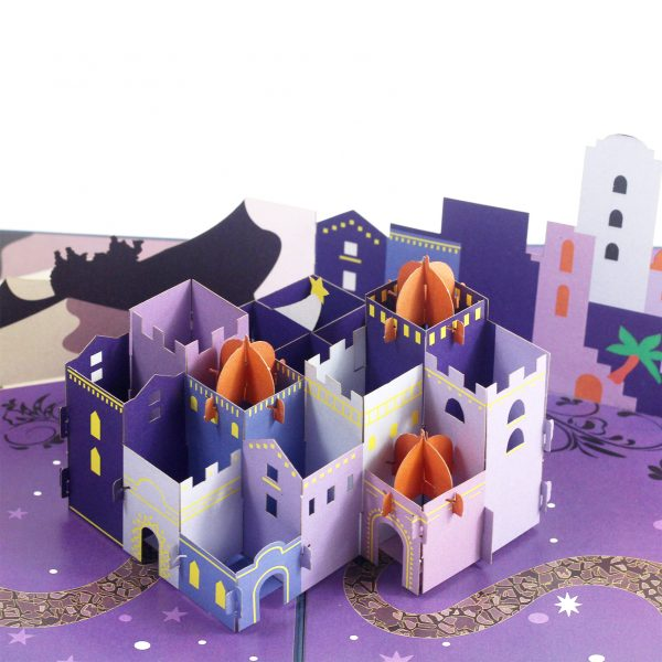 Jerusalem Pop Up Card
