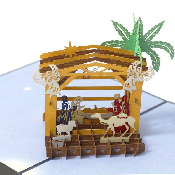 Nativity Pop Up Card